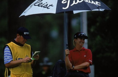 2001 US Open - Such a Great Week!  I was even smiling during the rain.