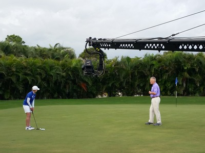 Golf Academy Shoot - Behind the scenes - Airing July 5, 12 and 26, 2017